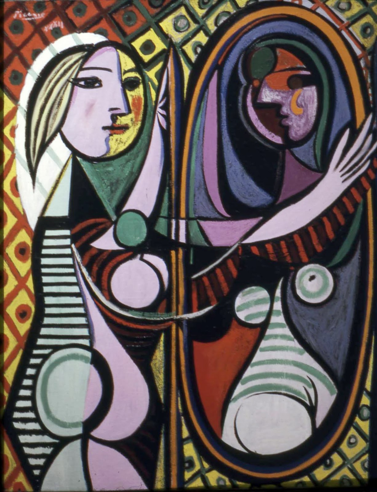 Girl before a mirror - Picasso