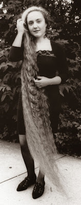 Girl with the longest hair Long Hair Contest winner