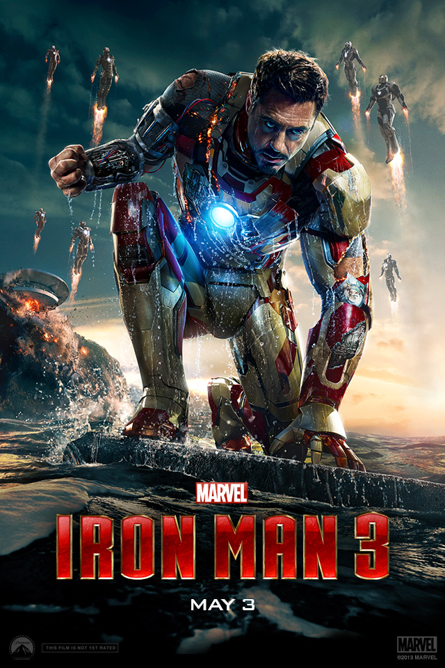 Iron Man 3 iPhone wallpaper 640x960 007