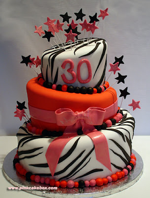 Cute birthday cake for your special woman