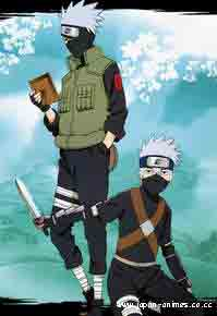 kakashi and child kakashi