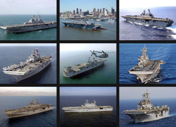 9 kapal serbu amfibi Angkatan Laut AS