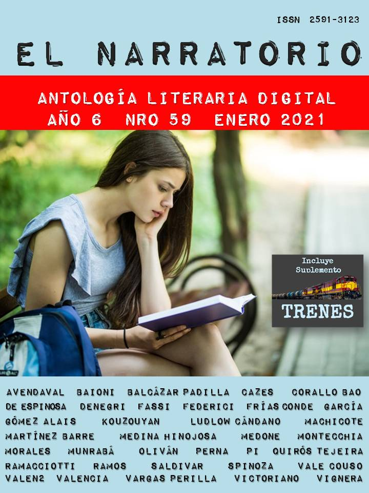 EL NARRATORIO  ANTOLOGÍA LITERARIA DIGITAL NRO 59