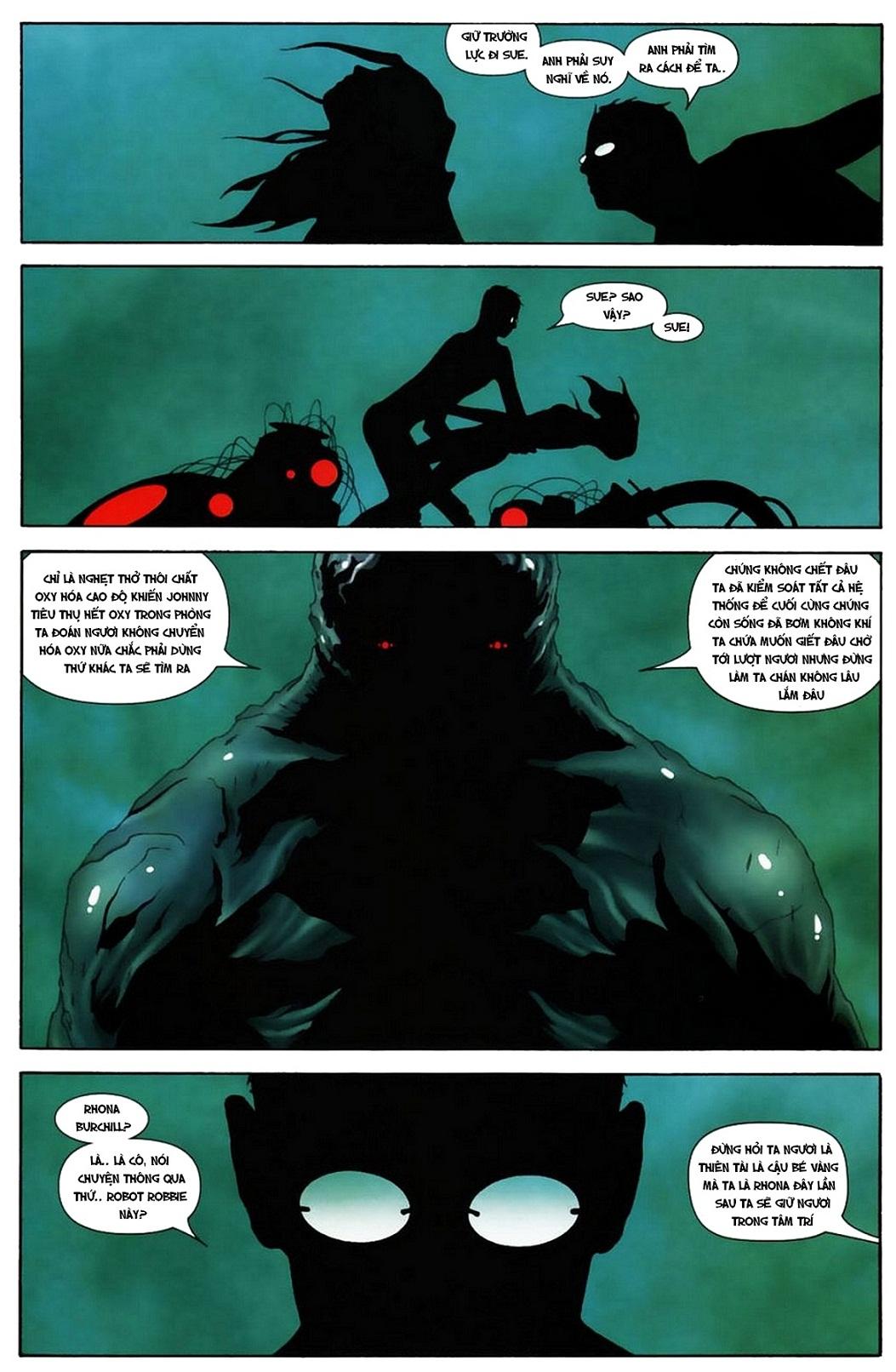 Ultimate Fantastic Four chap 19 - Trang 22