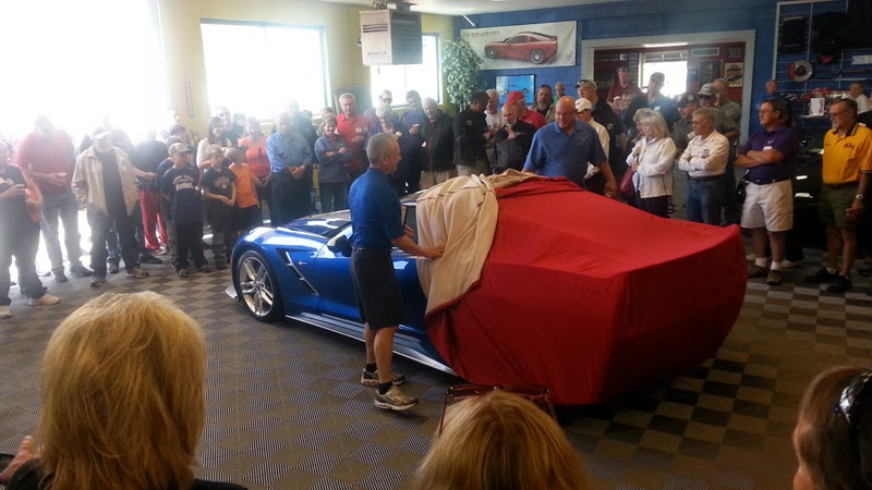 Custom C7 Corvette at Purifoy Chevrolet