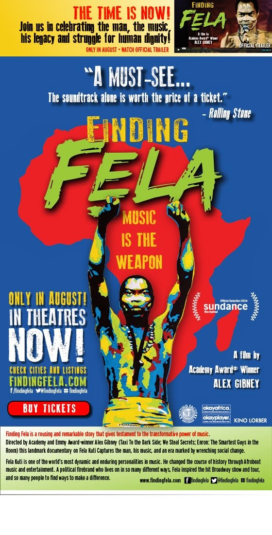 Welcome Alex Gibney's New Documentary Finding Fela to Atlanta