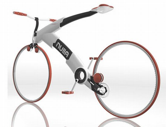 Chain-less Nulla Bike Concept is a future fashion
