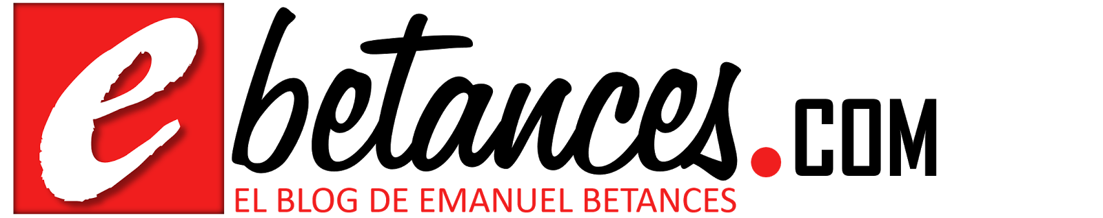 El Blog de Emanuel Betances