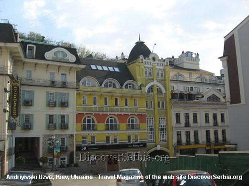Andriyivski Uzviz Kiev