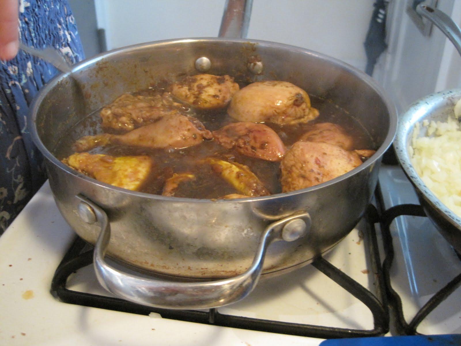 Making Michael Pollan Proud: Doro Wet: Ethiopian Chicken Stew