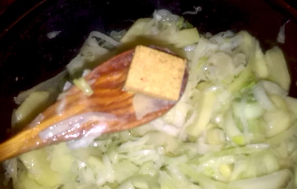 pastilla de caldo de verduras