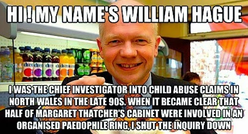 William Hague paedophile protector