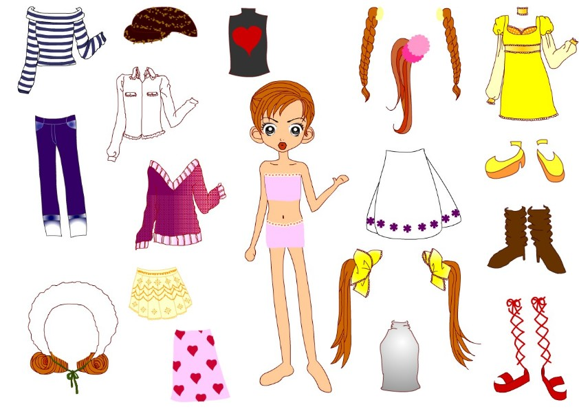new paper dolls with clothes paper dolls are figures cut out