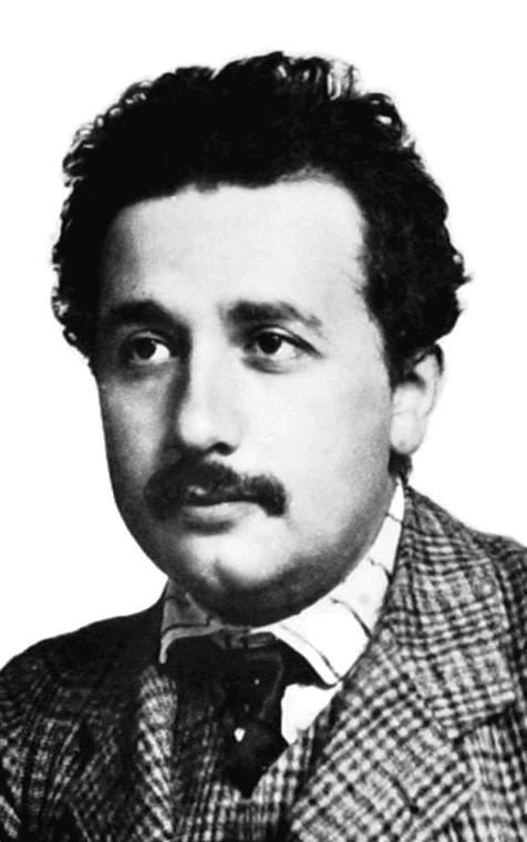 Albert Einstein di masa muda