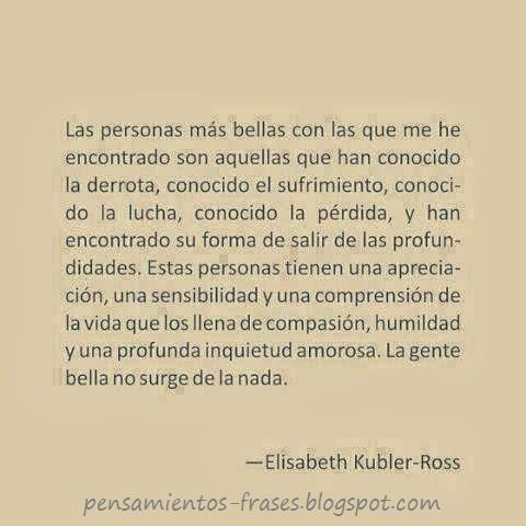 frases de Elisabeth Kübler Ross