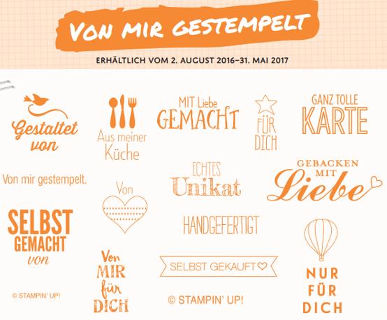 """""""Von mir gestempelt"""" bis 31.5.2017"""