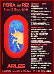 Manolo Vanegas, anunciado en la feria del Arroz de Arles, el 13/09.