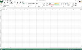 Excel 2013 メイン画面