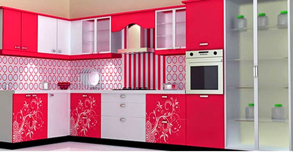 Home Decor Stunning Kitchen Cabinets With Beautiful Flowers