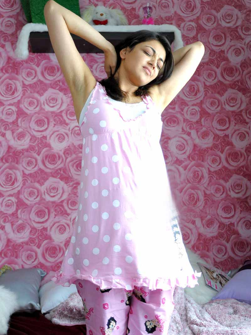 Kajal agarwal Good Morning1 - Kajal agarwal Good Morning Hot Pics