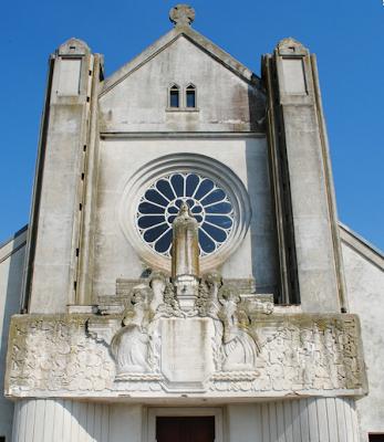 Igreja de Soissons, ao norte da França