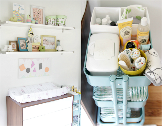5 creative ways to use IKEA'S Raskog cart- littlehouseoffour.com