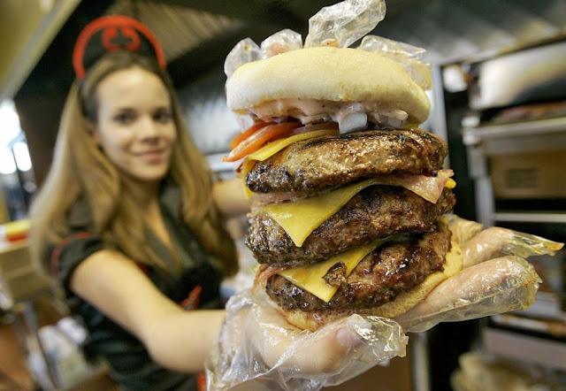 quadruple bypass burger