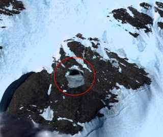 Hole - Hole Antarctica and mystery