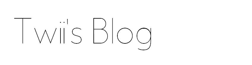 Twii's Blog