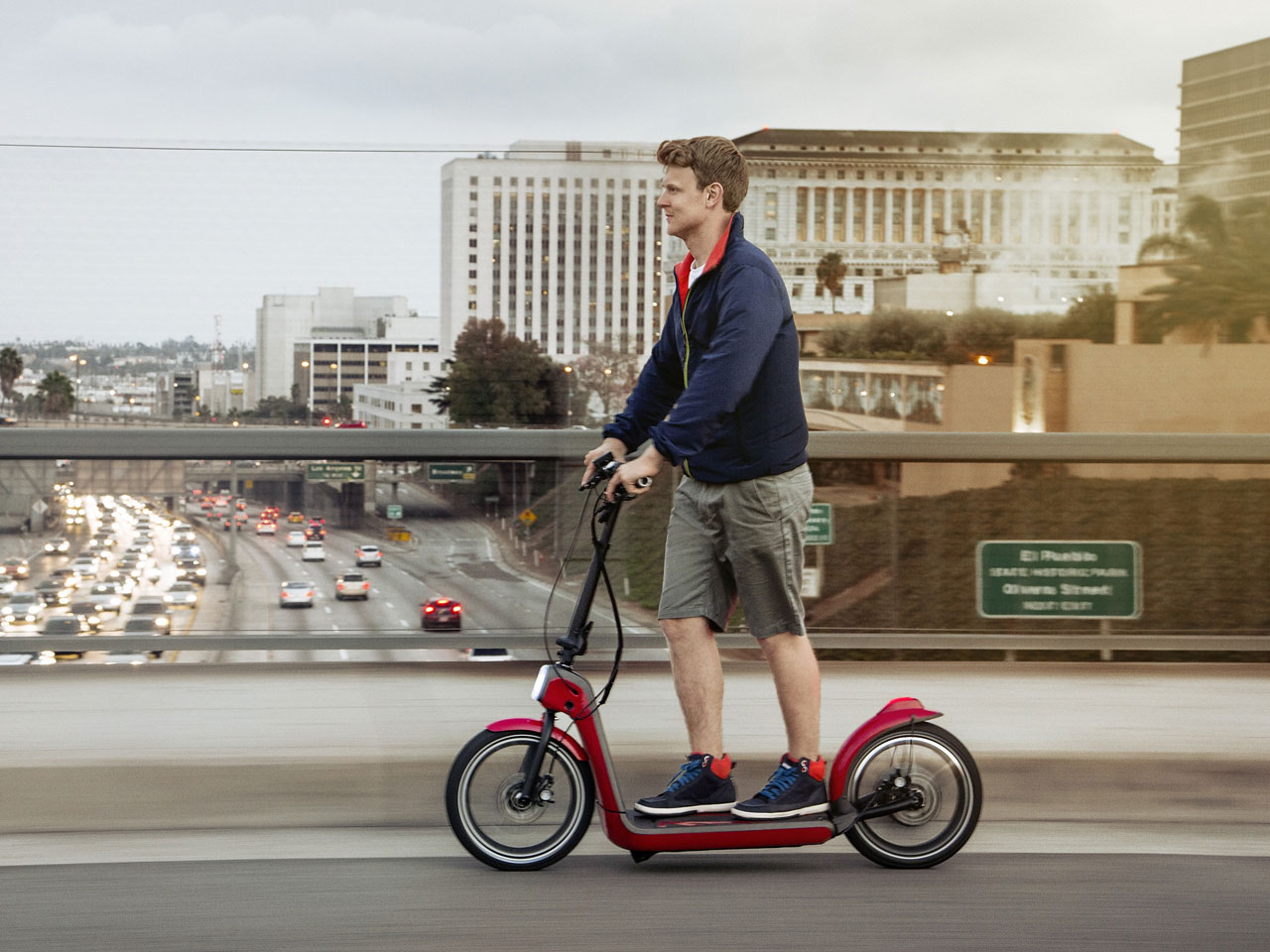 The Mini Citysurfer Electric Scooter Concept drive