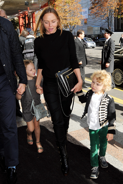 Photo of Stella McCartney & her Son  Beckett Robert Lee Willis