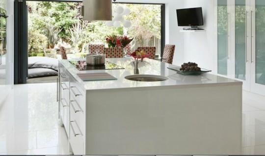 Cocina moderna color rosa | Ideas para decorar, diseñar y mejorar tu ...
