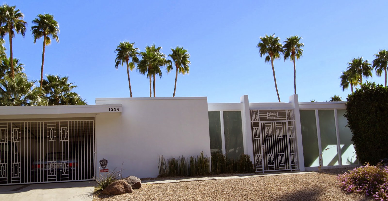 Walking Tour, Vista Las Palmas, Palm Springs, Modernism Week 2014
