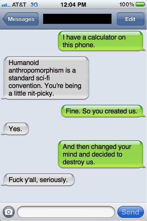 Funny Text Message Conversation | POPSUGAR Love & Sex