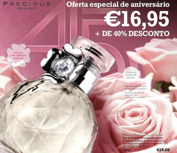 precious moments perfume oriflame