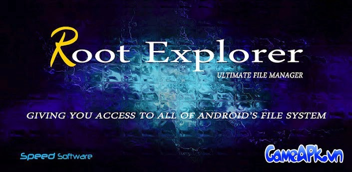 Root Explorer (File Manager) v3.3.3 Patched cho Android