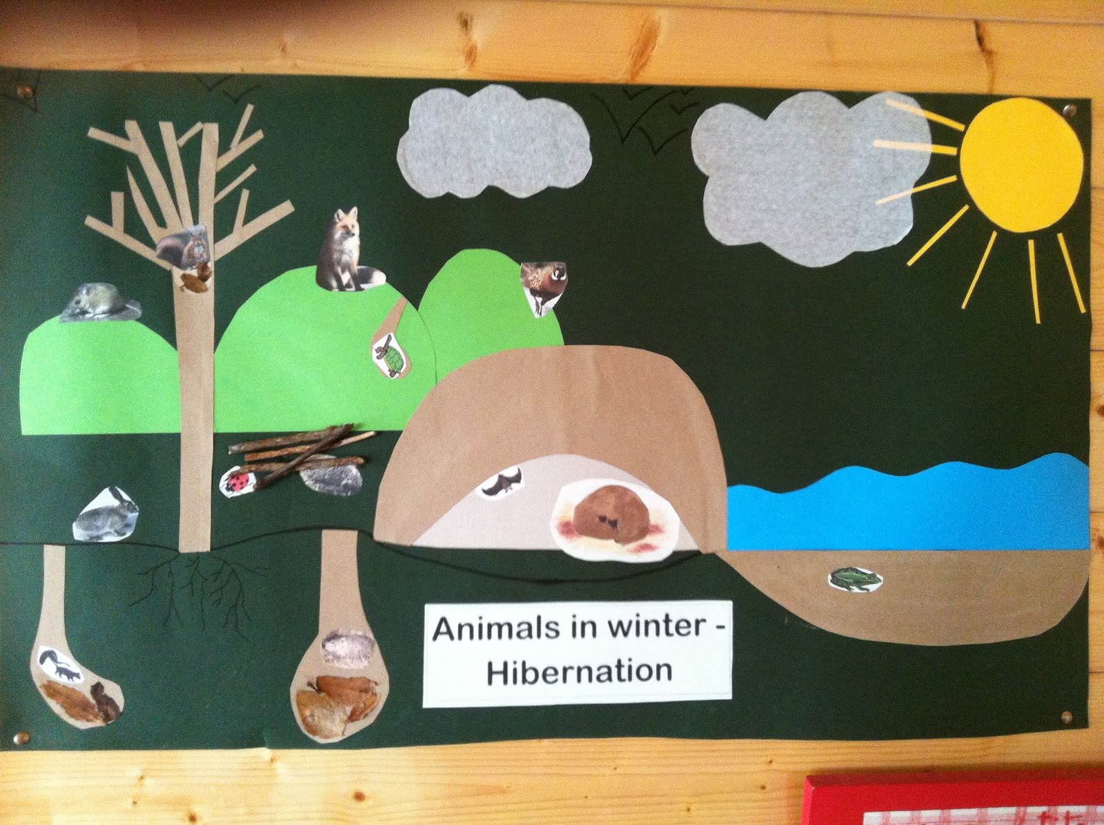 Lesson planning with me hibernation for Hibernation crafts for preschool