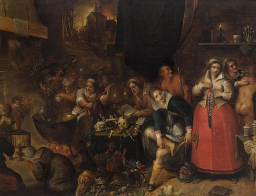 frans francken witch