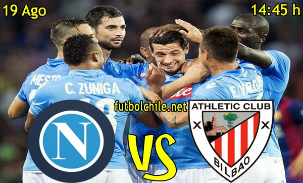 Napoles vs Athletic de Bilbao - Champions League Fase Previa - 14:45 h - 19/08/2014