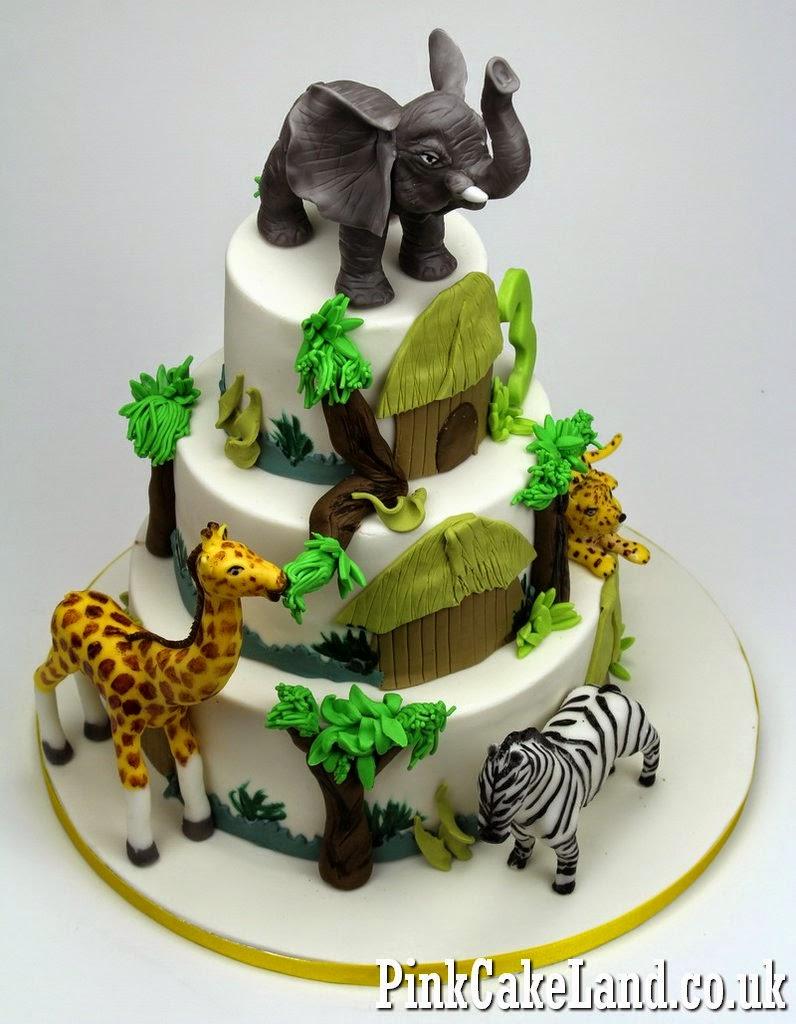 Dartford Cakes Zoo Birthday Cake Dartford