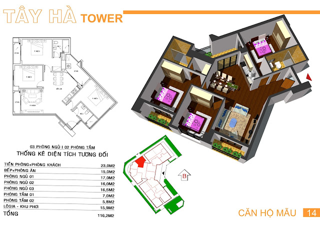 Căn 14 Tây hà tower