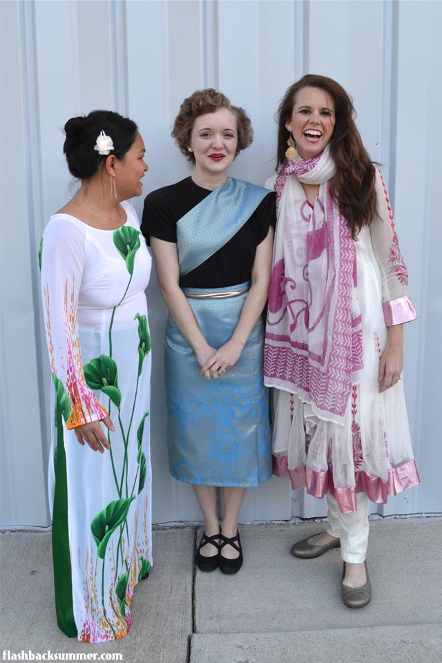 Flashback Summer: 1940s + Traditional Thai Clothing
