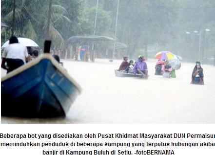 Banjir di Kelantan Terengganu Pahang