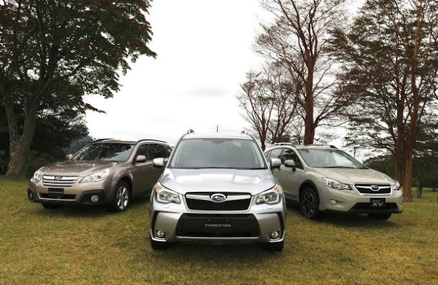 новый Subaru Forester в Украине 2013