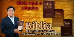 Evangelista Ernani Lourenço é representante da bíblia de estudo escrita pelo Pr.Gilmar Santos.