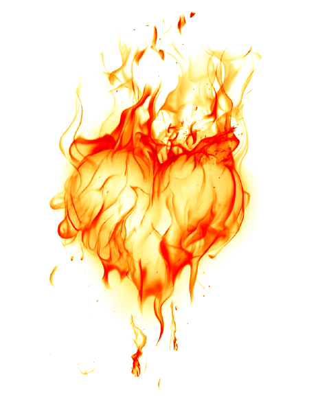 Heart on Fire Icon