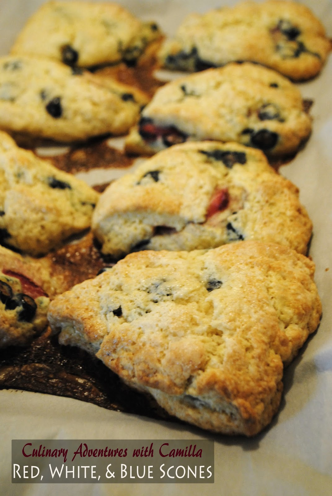 Remove the scones from the oven and set them on a wire rack to cool ...