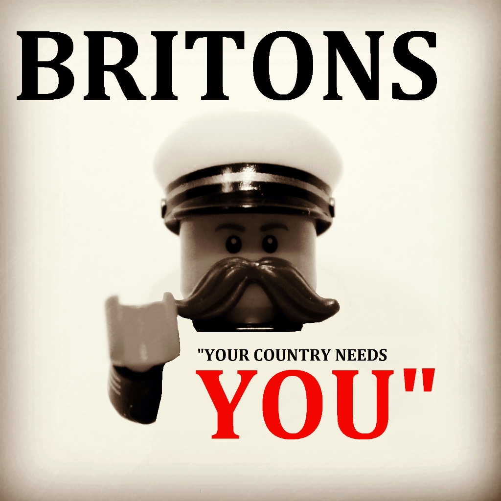 Lego Museums: Lord Kitchener - Your Country Needs You!
