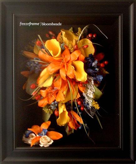 Wedding Bouquet Preservation Company : Frame your wedding flowers freezeframe floral