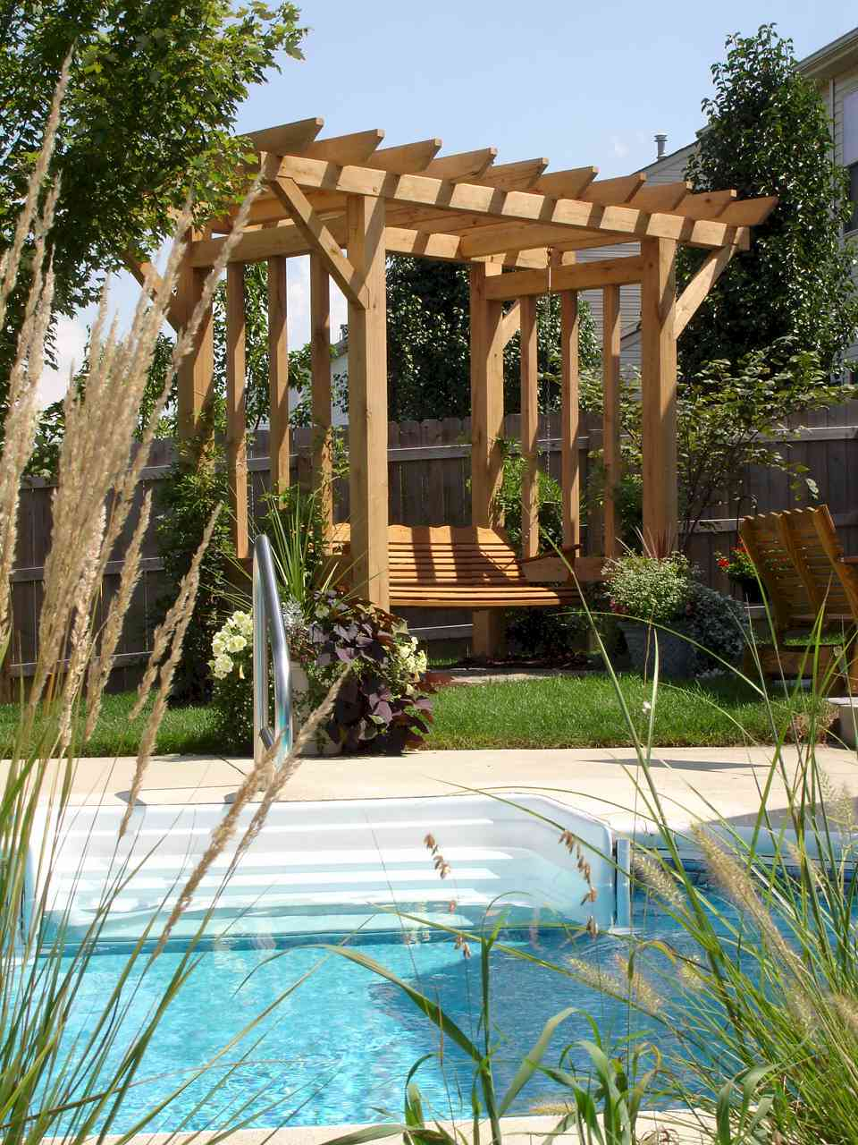 Easy Building Shed And Garage Arbor Swings Design Arbor
